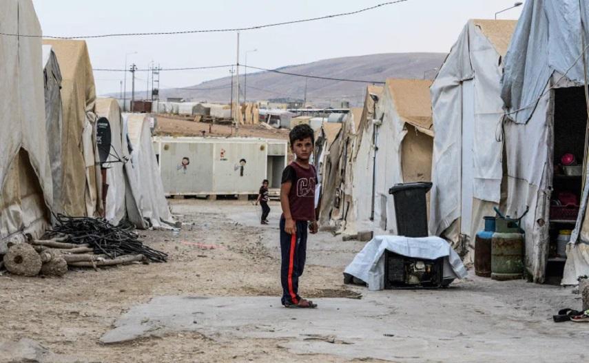 Campo refugiados yazidi